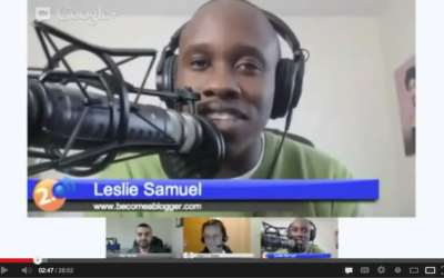 Episode 1 – Leslie Samuel Shares How To Build Your Audience With Blogging